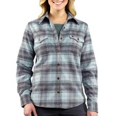 Carhartt Women's Hamilton Flannel Shirt II - Discontinued Pricing