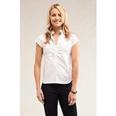 Carve Designs Womens Ranch Top - Cap Sleeve