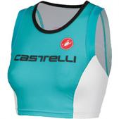 Castelli Free Donna Triathlon Singlet - Women's Size M Color Aqua