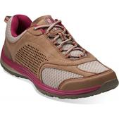 Clarks Women's Inset Trail Shoes Taupe 7