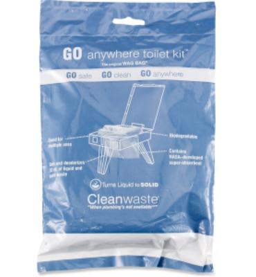 Cleanwaste WAG BAG Toilet in a Bag Waste Kit