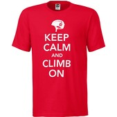 Climb On Short Sleeve Tee Mens