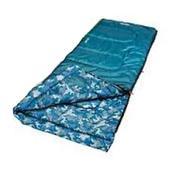 Coleman Boys Youth Rectangle Sleeping Bag Blue/Blue Camo 2000014154