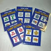 Color War Tattoo 4- pc Set