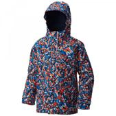 Columbia Boy's Bugaboo Interchange Jacket Super Blue Print XXS