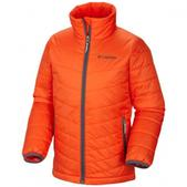 Columbia Boy`s Youth Mighty Lite Jacket (STATE ORANGE, L)