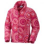 Columbia Girls Toddler Explorers Delight Printed Fleece Jacket (BRIGHT ROSE, 2T)
