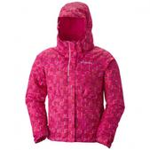 Columbia Girl`s Youth Flurry Flash Jacket (GROOVY PINK, L)