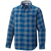 Columbia Mens Falldale Double Cloth Long Sleeve Shirt