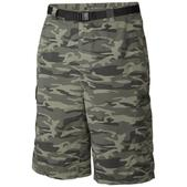 Columbia Men's Silver Ridge Printed Cargo Shorts Camo