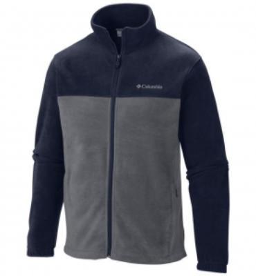 Columbia Men`s Steens Mountain Full Zip 2.0 Jacket (GRAPHITE/ COLLEGIATE NAVY, 2XL)