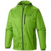 Columbia Mens Trail Drier Windbreaker Jacket (CYBER GREEN, XL)