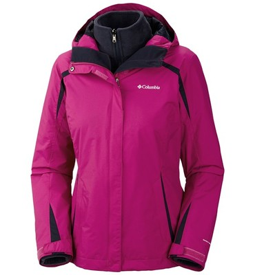 Columbia Sportswear Blazing Star Interchange Jacket - 3-in-1, Insulated, Omni-Shield(R) (For Women)