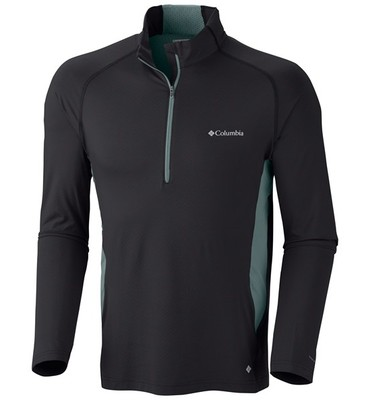 Columbia Sportswear Freeze Degree Shirt - UPF 50, Zip Neck, Long Sleeve (For Men)