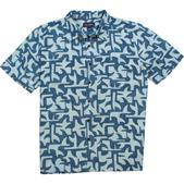 COVA Men's Finatic Short Sleeve Shirt Blue