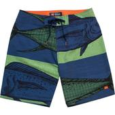 COVA Men's Heads or Tails Boardshorts Blue