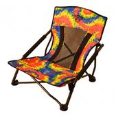 Crazy Creek Crazy Legs Quad Beach/Festival Chair Tie Dye 6350-241