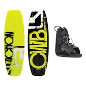 CWB Faction Wakeboard With Hyperlite Frequency Bindings