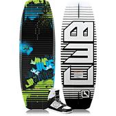 CWB Jive Wakeboard with Prizm Boots (2013)