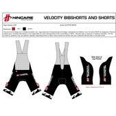 CyclocrossRacing.com Team CXR Bib Shorts (M or W)
