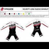 CyclocrossRacing.com Team CXR Long-Sleeved Skinsuit (M or W)