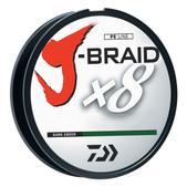 Daiwa J-Braid Dark Green Fishing Line 330 Yards 8lb Test JB8U8-300DG