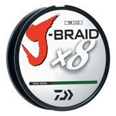 Daiwa J-Braid Fishing Line-120Lb Test 330 Yards - Dark Green