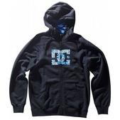 DC MLF Star ZHM Full Zip Hoodie Black