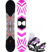 DC Ply Snowboard w/ M3 Equinox 4 Bindings