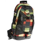 DC Sender Backpack Red Plaid