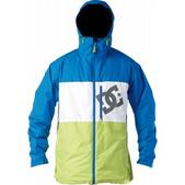 DC Squaw Snowboard Jacket Lime Green Olympian Blue