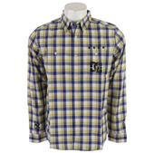DC Tp Plaidstrana L/S Shirt Blue/Yellow