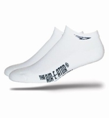 Defeet D Logo White Cycling Socks