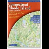 DeLorme Rhode Island and Connecticut Atlas and Gazetteer