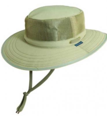 Dorfman Pacific Mens Microfiber Sailing Hat, Khaki, L