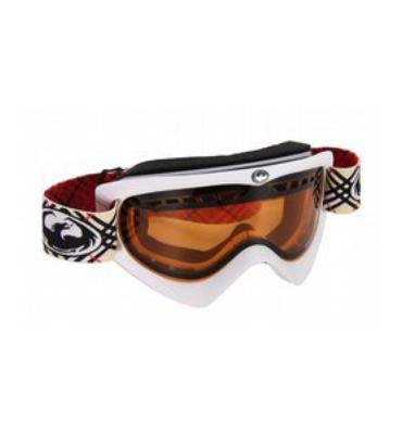Dragon DX Snowboard Goggles Powder/Amber/Plaid