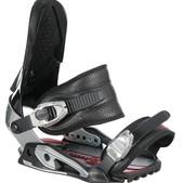 Drake Supersport Snowboard Bindings Black/Chrome - Men's