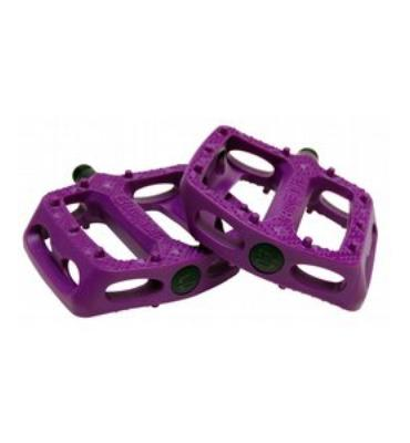 Eastern Crown Plastic Bike Pedal Opaque Purple