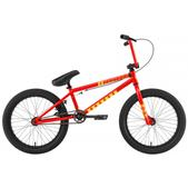 Eastern Lowdown 120 BMX Bike Gloss Red w/ Black Rims 20in
