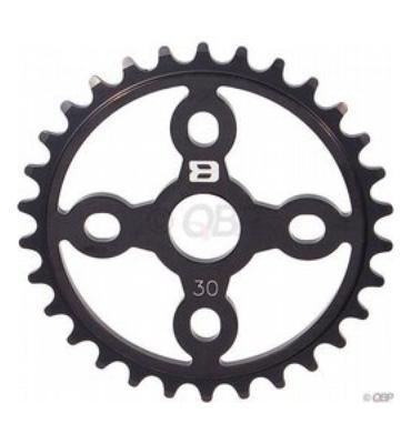 Eastern Medusa Light Chainwheel Matte Black 25T