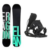 Elan Eragon Blem Flite Snowboard and Binding Package