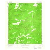 Elk Mountain 1963 - 7.5' Topo