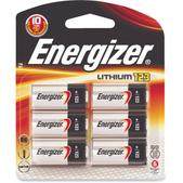 Energizer 123 Lithium Batteries - Package of 6