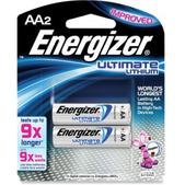 Energizer Lithium AA Batteries - Package of 2