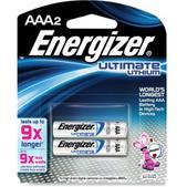 Energizer Lithium e2 AAA Batteries - 2 Pack