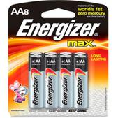 Energizer MAX Alkaline AA Batteries - Package of 8