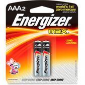 Energizer MAX Alkaline AAA Batteries - Package of 2
