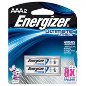 ENERGIZER ULTIMATE LI AAA 2PK