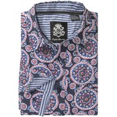 English Laundry Floral Print Sport Shirt - Long Sleeve (For Men)