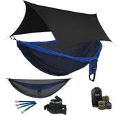 ENO Double Deluxe OneLink Sleep System - Navy/Royal With Guardian SL & Black Profly